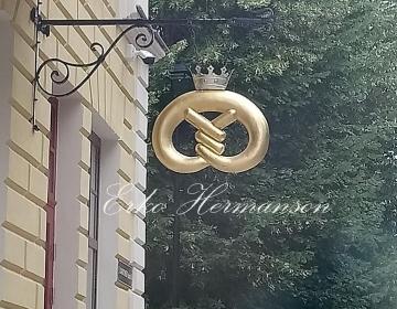 Vaskplekist kringel  ( Viljandi Park Hotell )